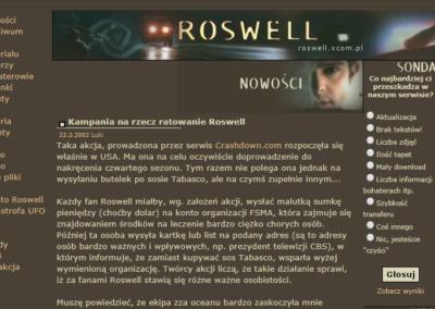 Roswell.xcom.pl 2002